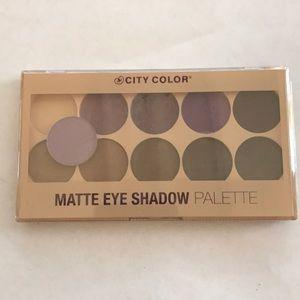 City color matte eyeshadow palette (1)